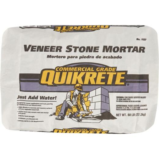 Quikrete 60 Lb. Type S Gray Mortar Mix
