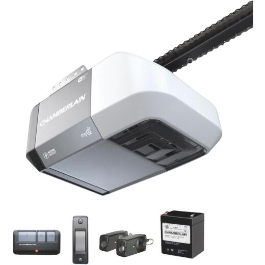 Chamberlain C-273 1/2 HP Battery Backup Smart Chain Drive Garage Door Opener