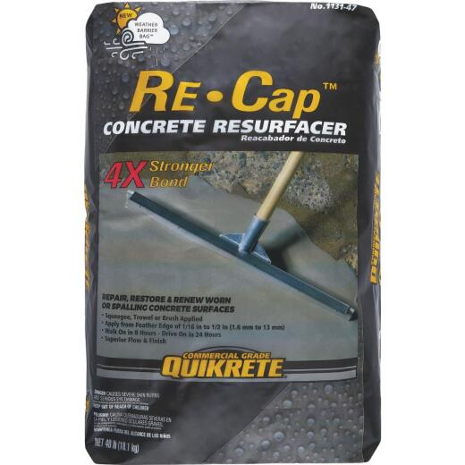 Quikrete Re-Cap 40 Lb. Portland Cement Base Concrete Resurfacer