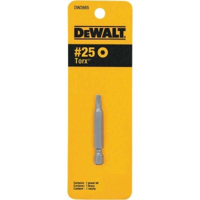 DeWalt T25 TORX 2 In. 1/4 In. Power Screwdriver Bit