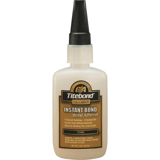 Titebond 2 Oz. Instant Bond Thin Viscosity CA Wood Glue