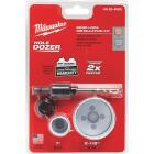 Milwaukee Hole Dozer Bi-Metal Door Lock Installation Hole Saw Set (4-Piece) Image 2