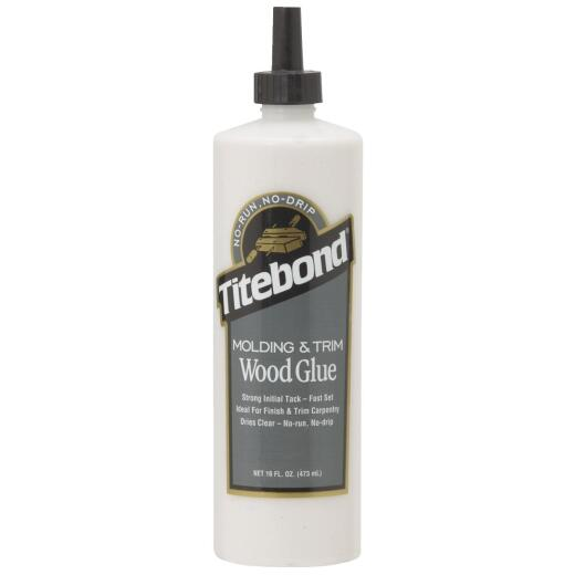 Titebond 16 Oz. Molding and Trim Wood Glue