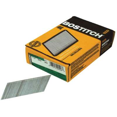 Bostitch 15-Gauge Coated 25 Degree FN-Style Angled Finish Nail, 1-1/2 In. (3655 Ct.)
