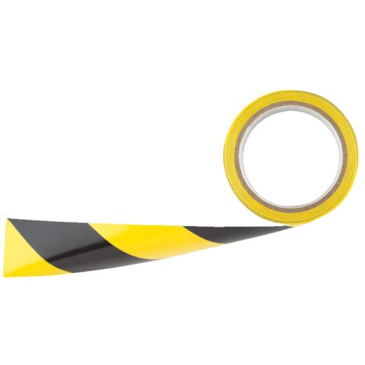 Irwin 2 In. W x 54 Ft. L Striped Floor Caution Tape