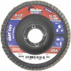 Weiler Vortec 4-1/2 In. x 7/8 In. 36-Grit Type 29 Angle Grinder Flap Disc Image 1