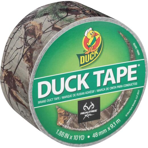Duck Tape Realtree Xtra 1.88 In. x 10 Yd. Printed Duct Tape, Camouflage