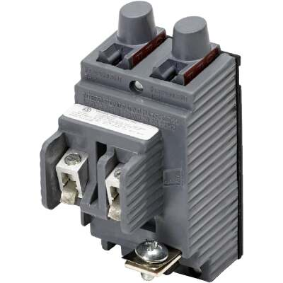 Connecticut Electric 20A/20A Twin Single-Pole Standard Trip Packaged Replacement Circuit Breaker For Pushmatic