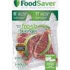 Food Saver Make Your Own Vacuum Sealer Bags, 5 Rolls Image 1