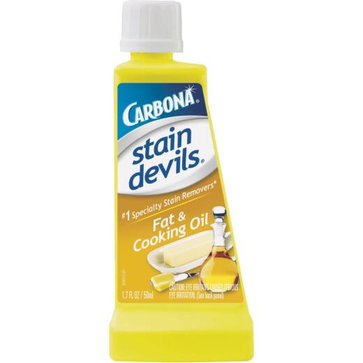 Carbona Stain Devils 1.7 Oz. Formula 5 Fat & Cooking Oil Stain Remover