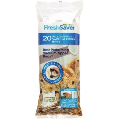 FoodSaver FreshSaver Gal. Vacuum Zipper Bags (20 Count)