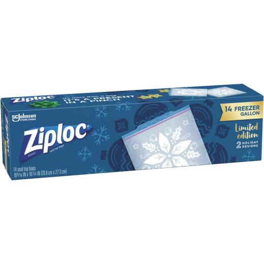 Ziploc Gallon Holiday Freezer Bag (14 Count)