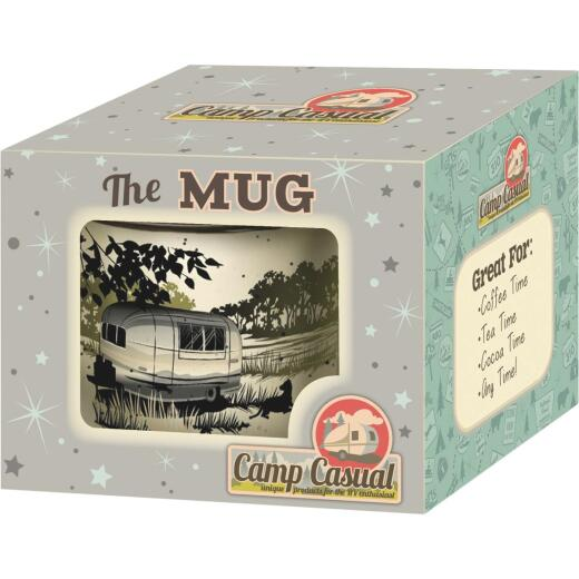Camp Casual 15 Oz. Paws and Relax Ceramic Coffee Mug