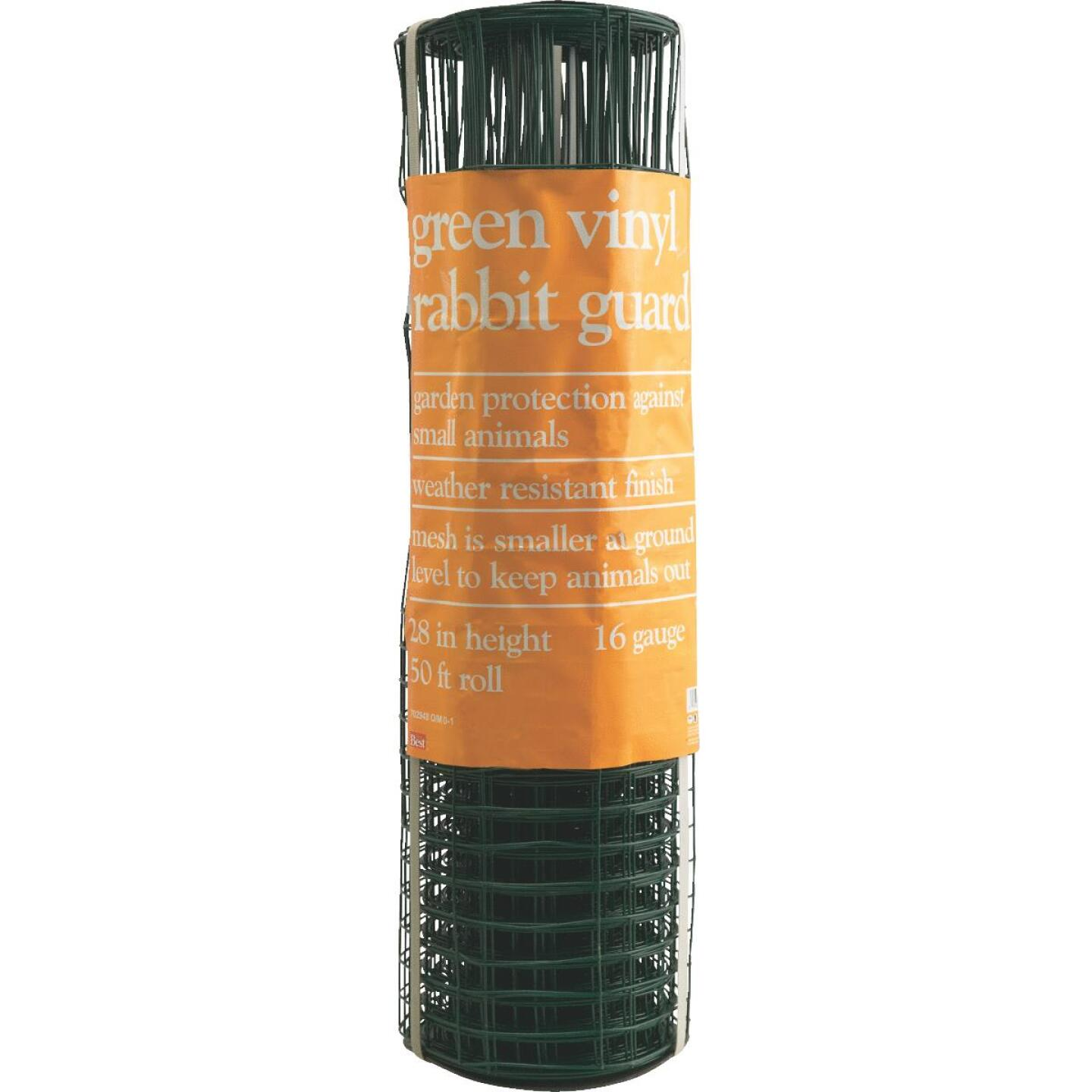 Do it 28 In. H. x 50 Ft. L. Galvanized Wire Garden Fence, Green Image 2