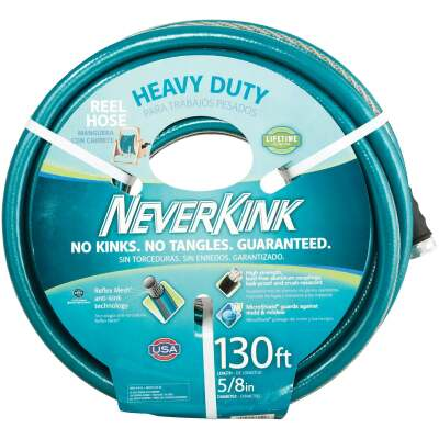 Neverkink 5/8 In. Dia. x 130 Ft. L. Heavy-Duty Garden Hose