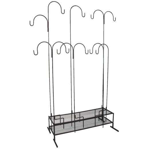 Best Garden Shepherd Hook Display Rack
