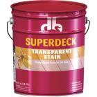Duckback SUPERDECK VOC Transparent Exterior Stain, Canyon Brown, 5 Gal. Image 1