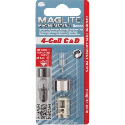 Maglite Xenon 6V Replacement Flashlight Bulb